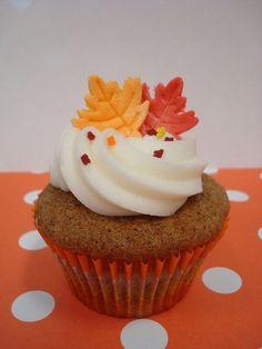 Decadent Mayflower Cupcakes