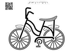 The Pegas bicycle - Tactile Images Encyclopedia Central And Eastern Europe, Visual Learning, Learning Disabilities, Triangle Shape, Bicycle, Graphics, Vehicles, Image, Bike