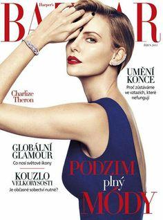 Charlize Theron .. BAZAAR magazine Cover
