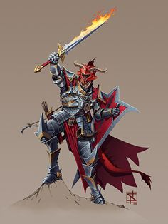 Dragonborn Eldritch Knight by Stephen Nickel - ImaginaryArmor Fantasy Character Design, Character Drawing, Character Design Inspiration, Character Concept, Character Ideas, Concept Art, Dungeons And Dragons Characters, D D Characters, Fantasy Characters