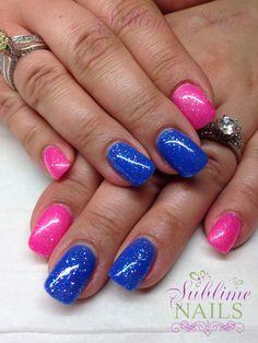 Gel Nails ~ Sublime Nails ~ Like Sublime Nails on Facebook! <3 https://www.facebook.com/sublimenailsedm