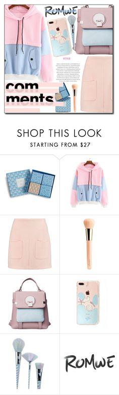 """romwe"" by konstadinagee ❤ liked on Polyvore featuring Vera Bradley, See by Chloé, Guerlain and Unicorn Lashes"