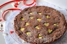 Crostata  morbida al cacao con ricotta