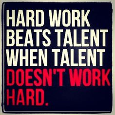 Hard Work Beats Talent Quote Hard Work Beats Talentpicture Quotes Work Quotes  Pinterest .