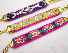 Bohemian Friendship Bracelets