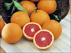 cara cara oranges are my favorite! (http://en.wikipedia.org/wiki/Cara_cara_orange)