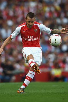 Mathieu Debuchy of Arsenal FC