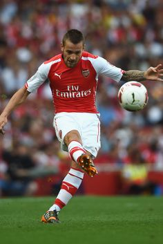 Mathieu Debuchy of Arsenal FC