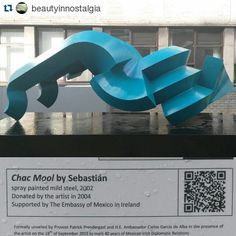 Thanks @beautyinnostalgia for sharing this. To read more about this sculpture visit http://ift.tt/1pBXJvB #trinitycollege  #trinitycollegedublin #Trinity #trinitycampus #trinityart  #Repost @beautyinnostalgia with @repostapp  A vehicle between man and the gods #art #trinitycollege #sculpture by trinitycollegedublin