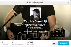 @PatrickBruelOff Arrive Sur Twitter, L'Infos Poker Twitté du 24/04/13  aussi , EPT/ Clubpoker/ Francepokermedia/ queensOfPoker/ LKTEAM/ laMAMA / FronkFACE / Blacksuccube  / PMUpoker / FrenchPokerRadio / et TOI