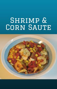 Michael Symon made a delicious Summer Corn and Shrimp Saute recipe on The Chew. http://www.foodus.com/the-chew-summer-corn-and-shrimp-saute-recipe/