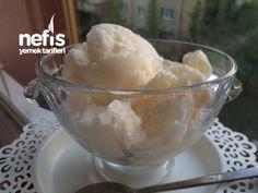 Kaymaklı Nefis Dondurma ( Salepsiz Ve Karıştırmadan)