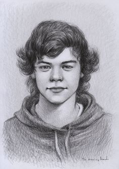 Harry Styles by thedrawinghands.deviantart.com on @deviantART adorable