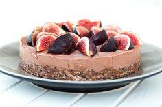 Raw fig tart,  suger-free & Glutenfree