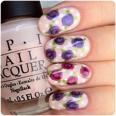 34 Beautiful Pastel Nails Design With Flowers - Fashion Diva Design