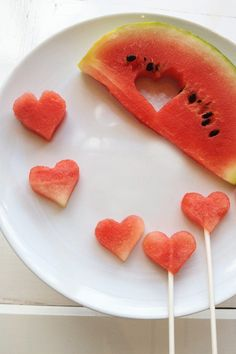 watermelon fruit pops // cake pop alternatives with @Amanda Wu Cake