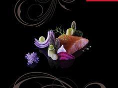 Sashimi printanier Création originale de Philippe Germain Extrait du livre Visions Gourmandes