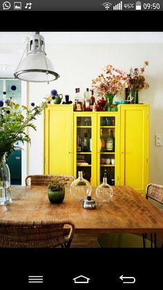 #Sarı #mutfak #yellow #kitchen