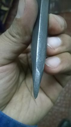 Homemade cold chisel