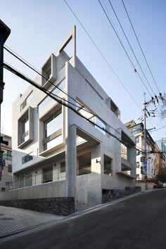 "Mise en Abyme by Studio GAON ""Location: Gangnam-gu, Seoul, South Korea"" 2014"