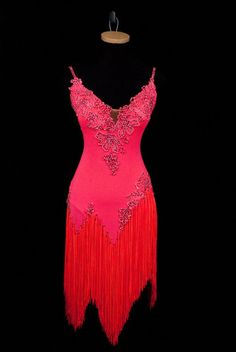 Elegant Latin/Rhythm Dance Dress, BRM203 | Available for rent and sale only at Classic Ballroom Elegance, www.cberentals.com