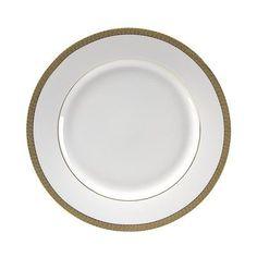 """Ten Strawberry Street Luxor 10.625"""" Dinner Plate (Set of 6)"""