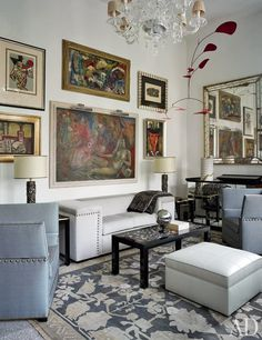 Chuck Chewning Renovates the Historic Gritti Palace in Venice---'The Peggy Guggenheim suite'