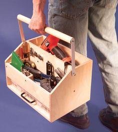 caja-organiza herramientas en madera !