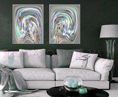 #Modern #WallArt #SetofTwo #Prints #Silver #Grey #Rainbow #Metalic #Set of #Two #Print #Color #WallArt #SilverPrint #Art #Decor #Abstract #prints #setoftwo #setof2 #paintings #abstractart #abstractprints #contemporary #printable #interior #design #homedecor #homedecorideas #homedecoration Modern Wall Art, Modern Contemporary, Wall Art Sets, Artist Painting, Art Decor, Home Decor, Etsy Seller, Abstract Art, Interior Design