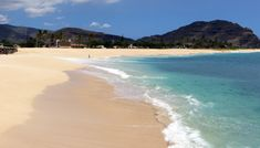 Maili Beach on West Shore Oahu.