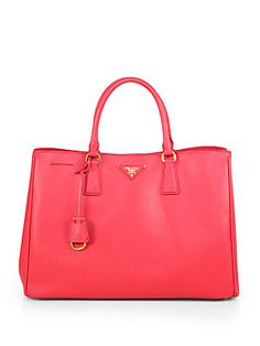 Prada Saffiano Lux Tote. Wish: Caramello-Caramel color. Perhaps something similar, structure and color wise.