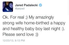 Congratulations to Jared and Gen. <3
