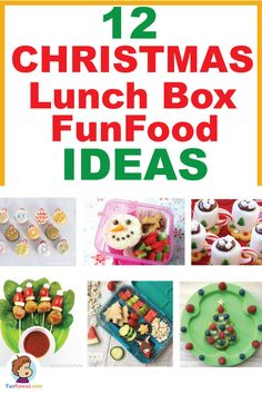 Get inspired by awesome Christmas themed foods! From lunch box to Dinner, with easy tricks you can make such fun food for kids / party / lunch box! Party Lunch Boxes, Bento Box Lunch For Kids, Cool Lunch Boxes, Lunch Menu, Creative Christmas Food, Creative Food, Dinners For Kids, Kids Meals, Toddler Meals