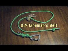 (57) DIY Lineman's Rope for Hunting - YouTube Deer Hunting Tips, Deer Hunting Blinds, Coyote Hunting, Pheasant Hunting, Archery Hunting, Hunting Gear, Hunting Stuff, Climbing Stands, Rope Climbing