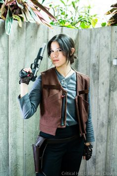 Becoming Jyn Erso – Costume Notes – The Fabric Alchemist Cosplay Diy, Best Cosplay, Cosplay Costumes, Cosplay Ideas, Star Wars Costumes, Disney Costumes, Halloween Costumes, Halloween 2017, Star Wars History