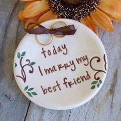 Wedding Quotes: Today I Marry My Best Friend #weddingquotes #quote #quotes #marriage #weddings #weddingwednesday