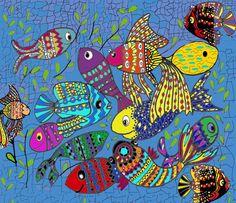 Beautiful Fish Art Print