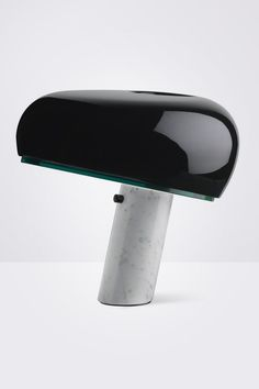 FLOS Snoopy Table Lamp in Black by Achille and Pier Giacomo