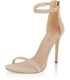 - Real leather- Plaited ankle strap- Open toe- Zip back fastening- Heel height: 5