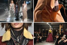 Fashion Week: Eveningwear, With a Chance of Showers - The New York Times