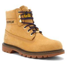 new products 04a57 23309 Women s Caterpillar Work WaterProof Boot Watershed Honey Wheat Nubuck  P307069