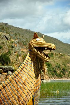 Titicaca Boats --- Photo taken by Esmeralda Spiteri