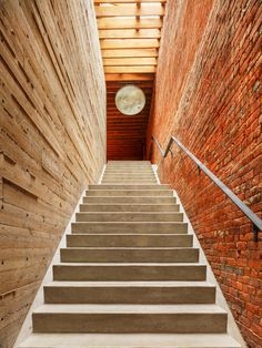 Stair, from Water Street House, By Omar Arbel Architecture