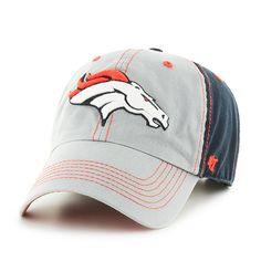 Denver Broncos Clean Up Tumult 47 Brand Adjustable Hat - Detroit Game Gear edc017765