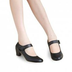 $13.08 Sweet Women's Pumps With Belt and Solid Color Design