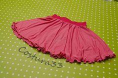 Costura33: Falda circular