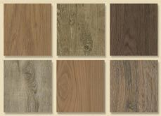 cork planks with vinyl finish....this especially in the attic...but how about some of the other rooms???