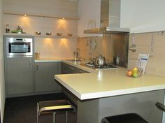 Showroomkeuken bij Van Wanrooij keuken- en badkamerspecialisten . Nu voor € 6.950,-