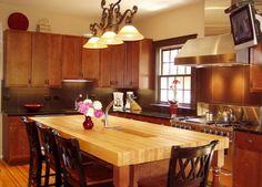 DeVos Custom Woodworking - Hard Maple Wood Countertop Photo Gallery