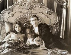 dolores costello + john barrymore